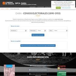 CENSOS de 1890 a 1955