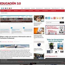Blogs y webs con recursos e información sobre la Formación Profesional