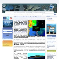 Información satelital aplicada al estudio de la Causa Malvinas
