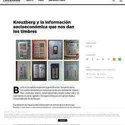 Kreuzberg y la información socioeconómica que nos dan los timbres