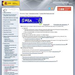 """Informaciones de interés > Congreso PISA """"Finanzas para la vida""""Instituto Nacional de Evaluación Educativa"""