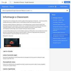 Informacje o Classroom - Classroom - Pomoc