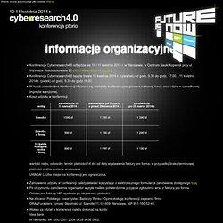 informacje organizacyjne