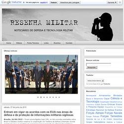 Entram em vigor os acordos com os EUA nas áreas de defesa e de proteção de informações militares sigilosas