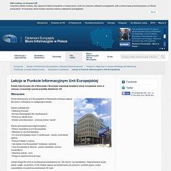 Lekcje w Punkcie Informacyjnym Unii Europejskiej
