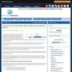 Blog de noticias. Administración de empresas, Marketing y Tecnología. Estrategias y mercado. Capacitación.