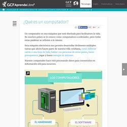 Informática Básica - ¿Qué es un computador?