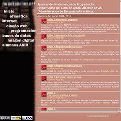 Jorge Sanchez, profesor de informática. Manuales, ejercicios y documentos sobre cursos de informática