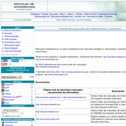 Manuales de informática: programación, internet, diseño, ofimática, bases de datos...