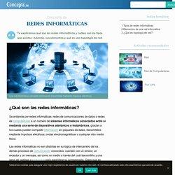 Redes Informáticas - Concepto, tipos de red y elementos