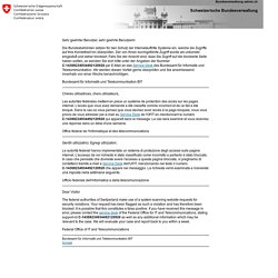 CONFEDERATION SUISSE - OCT 2014 - Produits OGM dans les denrées alimentaires : aperçu des contrôles menés en 2013 par les autorités cantonales d'exécution