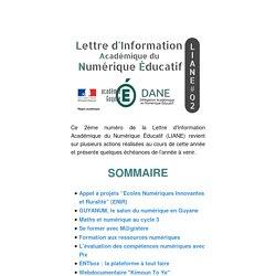 Lettre d'Information Académique du Numérique Éducatif