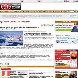 Projets SI- Optimisation site easyjet