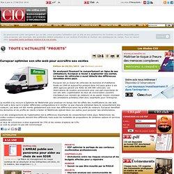 Projets des SI - optimisation site Europcar