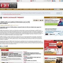 Projets des systèmes d'information - CIO-Online - actualités