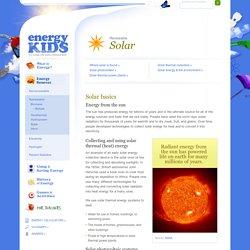 Solar - Energy Kids: U.S. Energy Information Administration (EIA)