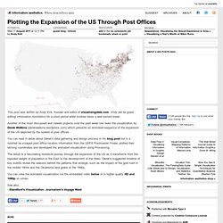 Plotting the Expansion of the US Through Post Offices