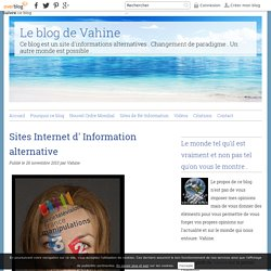 Sites Internet d' Information alternative