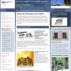 Centre d'information de l'ambassade d'Allemagne (CIDAL)