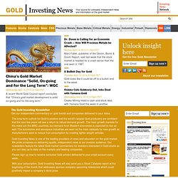 Gold Investing News: Gold Price, Gold Investing, Gold Exploration & Development