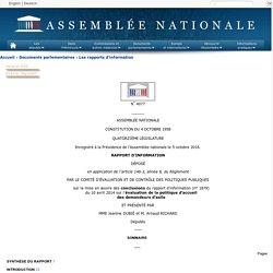 Rapport d'information n° 4077 sur la mise en œuvre des conclusions du rapport d'information (n° 1879) du 10 avril 2014 sur l'évaluation de la politique d'accueil des demandeurs d'asile