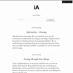 iA designs and builds digital products.