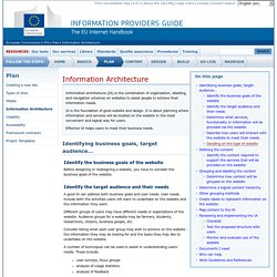 Information Architecture - European commission