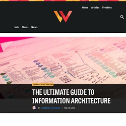 The ultimate guide to information architecture