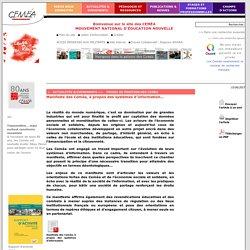 Manifeste des Ceméa, à propos des systèmes d'information…- CEMÉA - Site de l'association nationale