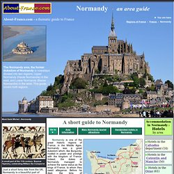 Normandy tourist information and attractions