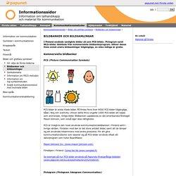 Information- Kommunikationsmetoder- Bilder och grafiska symboler- Bildbanker och bildsamlingar