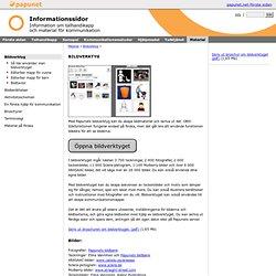 Information- Material- Bildverktyg
