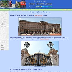Information on Buckingham Palace