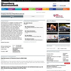Saab Barracuda LLC: Private Company Information