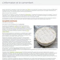 L'information et le camembert - Le blog de Marie-Anne Chabin