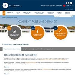 Canada Visa Information - France - Comment Faire Une Demande