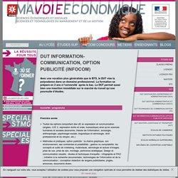 DUT information-communication, option publicité (infocom)