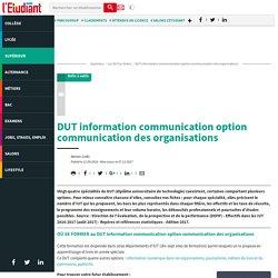 DUT information-communication - L'Etudiant