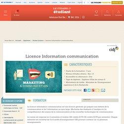 Licence Information communication – Figaro Étudiant
