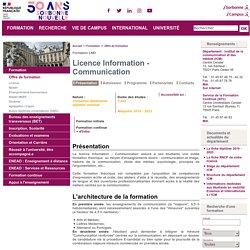 Licence Communication
