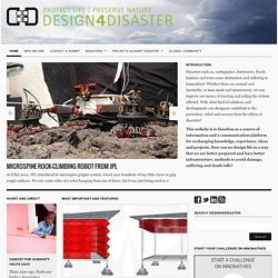 Design for disaster