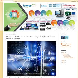 Synergy Technology Solutions: Information And Communication Technology – Help Your Business Unlock Its Potential