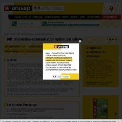 DUT Information-communication option journalisme