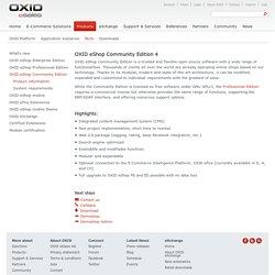 OXID eShop Community Edition