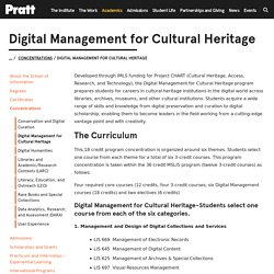 Digital Management for Cultural Heritage