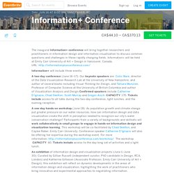 Information+ Conference Tickets, Thu, Jun 16, 2016 at 8:00 AM
