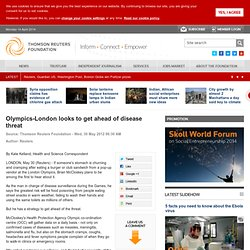 Olympics-London looks to get ahead of disease threat