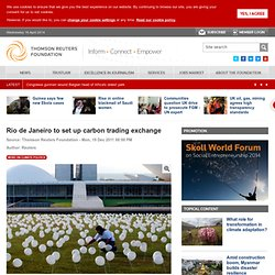 Rio de Janeiro to set up carbon trading exchange