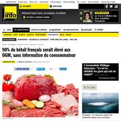90% du bétail français serait élevé aux OGM, sans information du consommateur