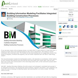 Integrated Building Construction Process & BIM